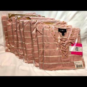 Reseller Bundle 9 L Pink Girls Shirt